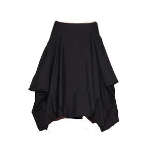 NWOT JW Anderson A-Line Skirt 4 Black Asymmetric